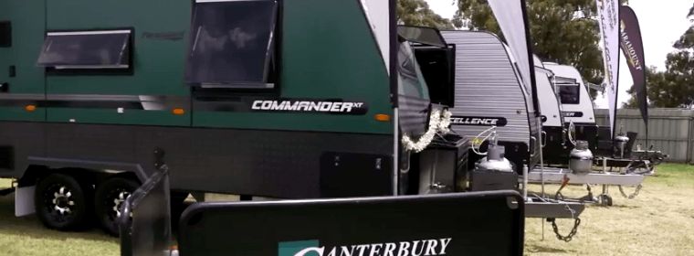 Stand out on the road with canterbury caravans!